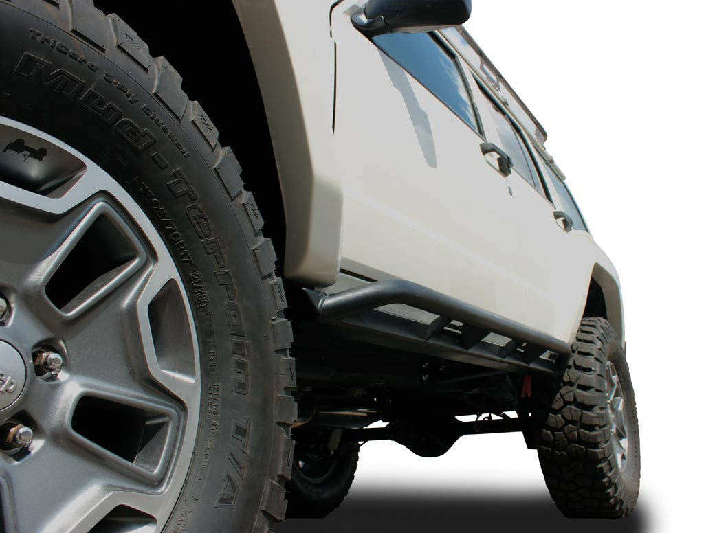 JCR Off Road XJ rock sliders