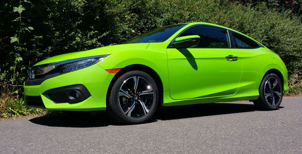 2016 Honda Civic Coupe turbo