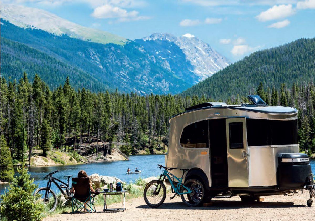 Airstream Basecamp at Lake