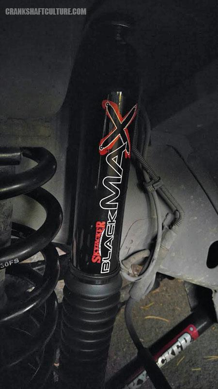 Skyjacker Black Max Front Shock Absorber
