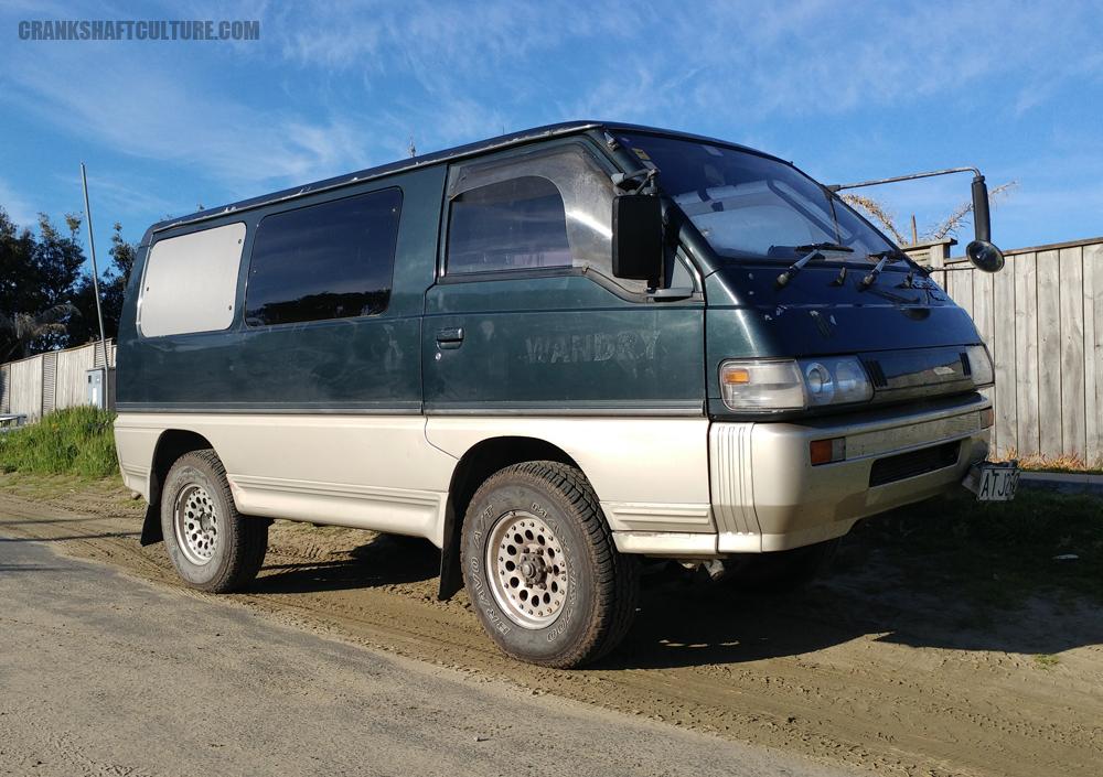 Driving a Mitsubishi Delica Star Wagon