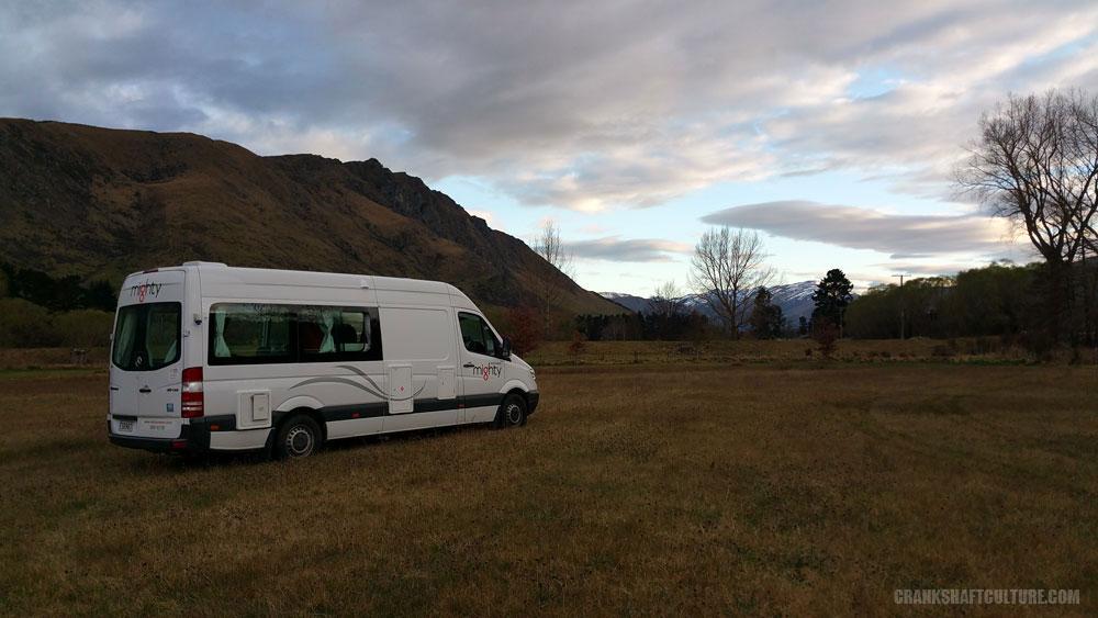 Mighty Deuce campervan in New Zealand