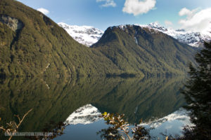 Lake in Fiordland National Park