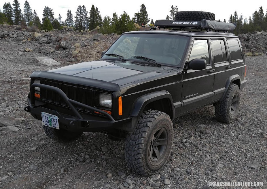 Directional Jeep tires