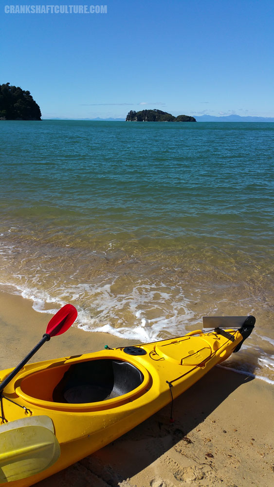Kayak on the Tasman Sea