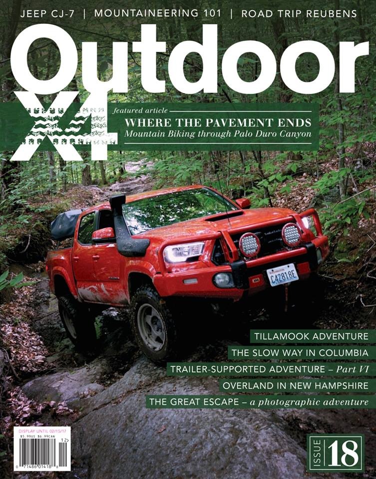 Issue 17 of OutdoorX4 Magazine