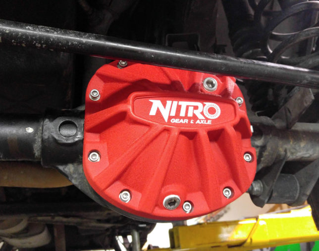 Nitro Gear & Axle diff cover