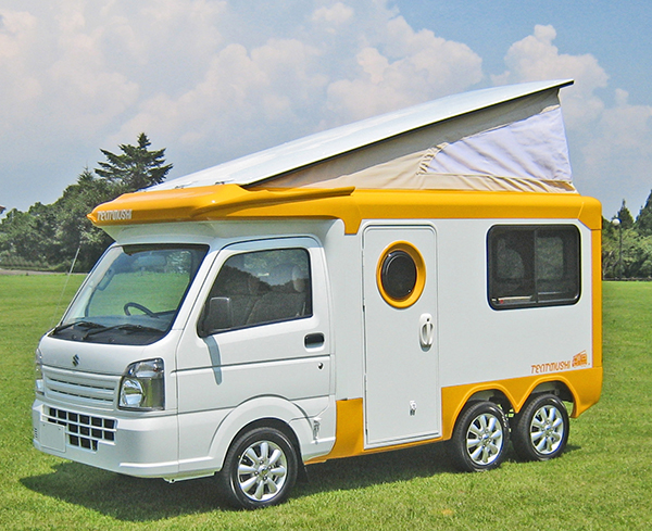 Tandem Axle Kei Campervan - CRANKSHAFT CULTURE