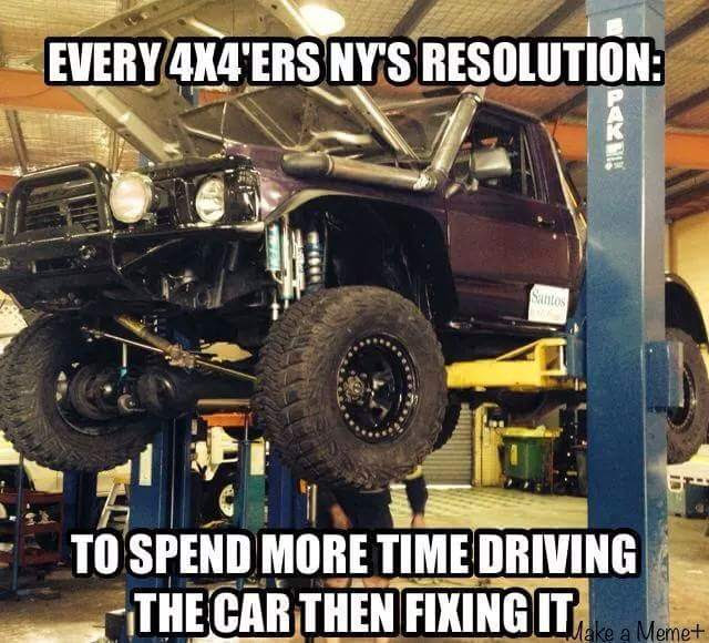 Work Less on the Jeep