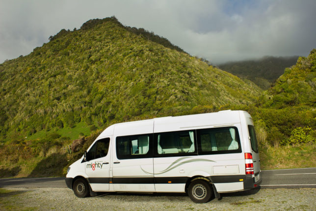 Mighty Campervan New Zealand. Travel comes in all forms.