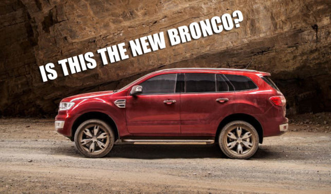 Is This The New Bronco