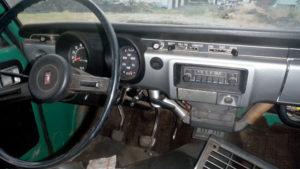 1971 Toyota Hilux interior