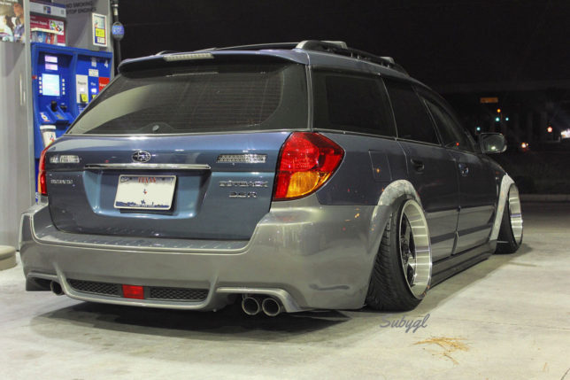 Slammed Subaru Outback Wagon - CRANKSHAFT CULTURE