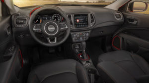 2017 Jeep Compass Trailhawk Interior