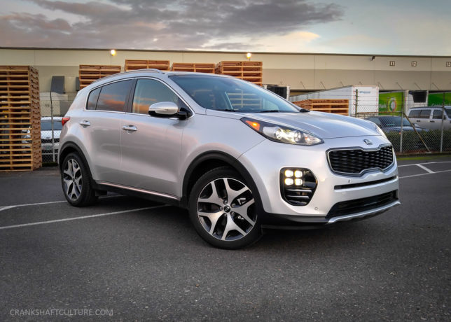 2017 Kia Sportage SX - CRANKSHAFT CULTURE