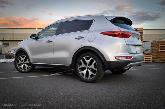 2017 Kia Sportage SX rear - CRANKSHAFT CULTURE