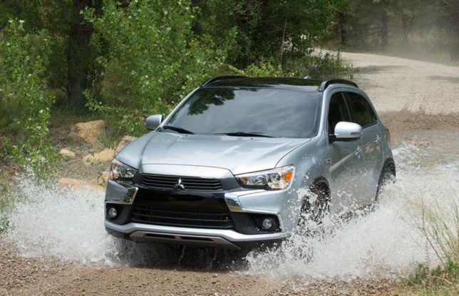 Mitsubishi Outlander Sport Water Crossing