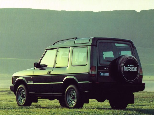 Honda Crossroad was a Land Rover Discovery