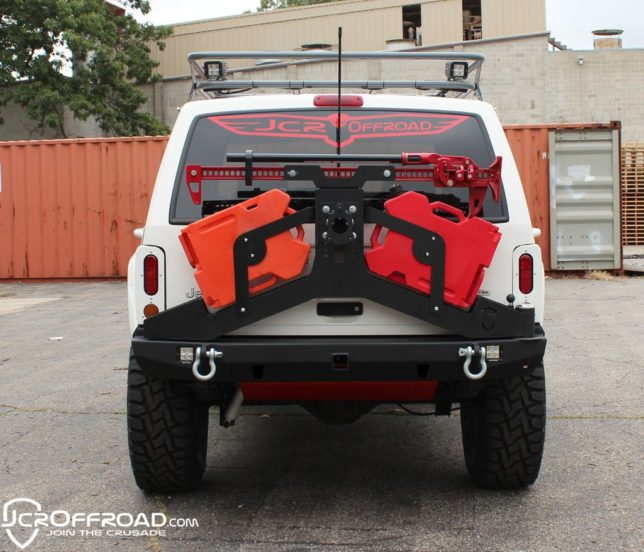 JCR Offroad Rear Vanguard Bumper and Tire Carrier