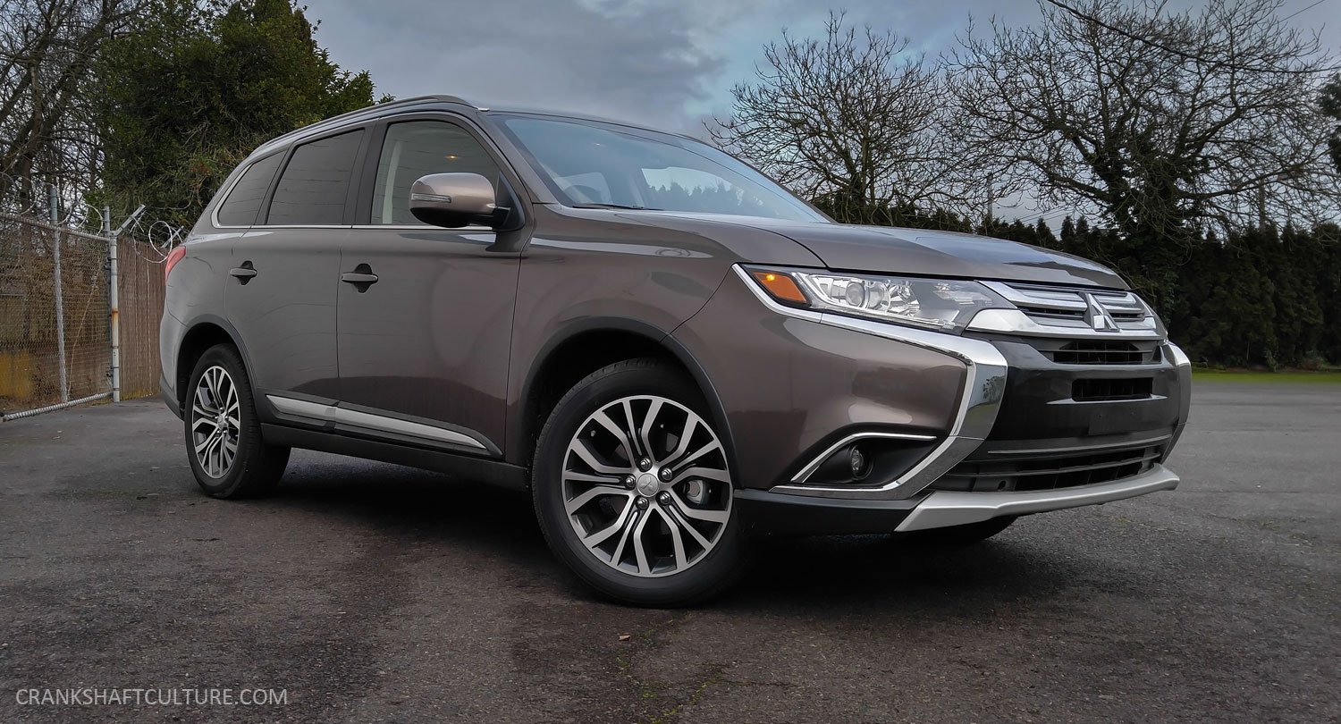 Review  2017 Mitsubishi Outlander Sel