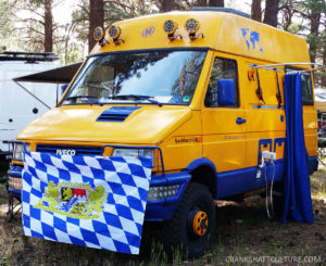 German Iveco Campervan
