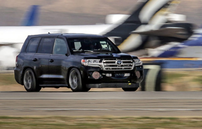 230 mph Toyota Land Cruiser