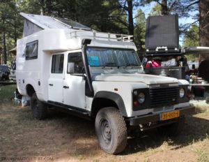 Land Rover Defender 120 camper