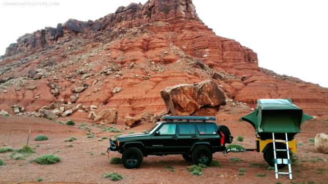 The PDXJ in Marble Canyon