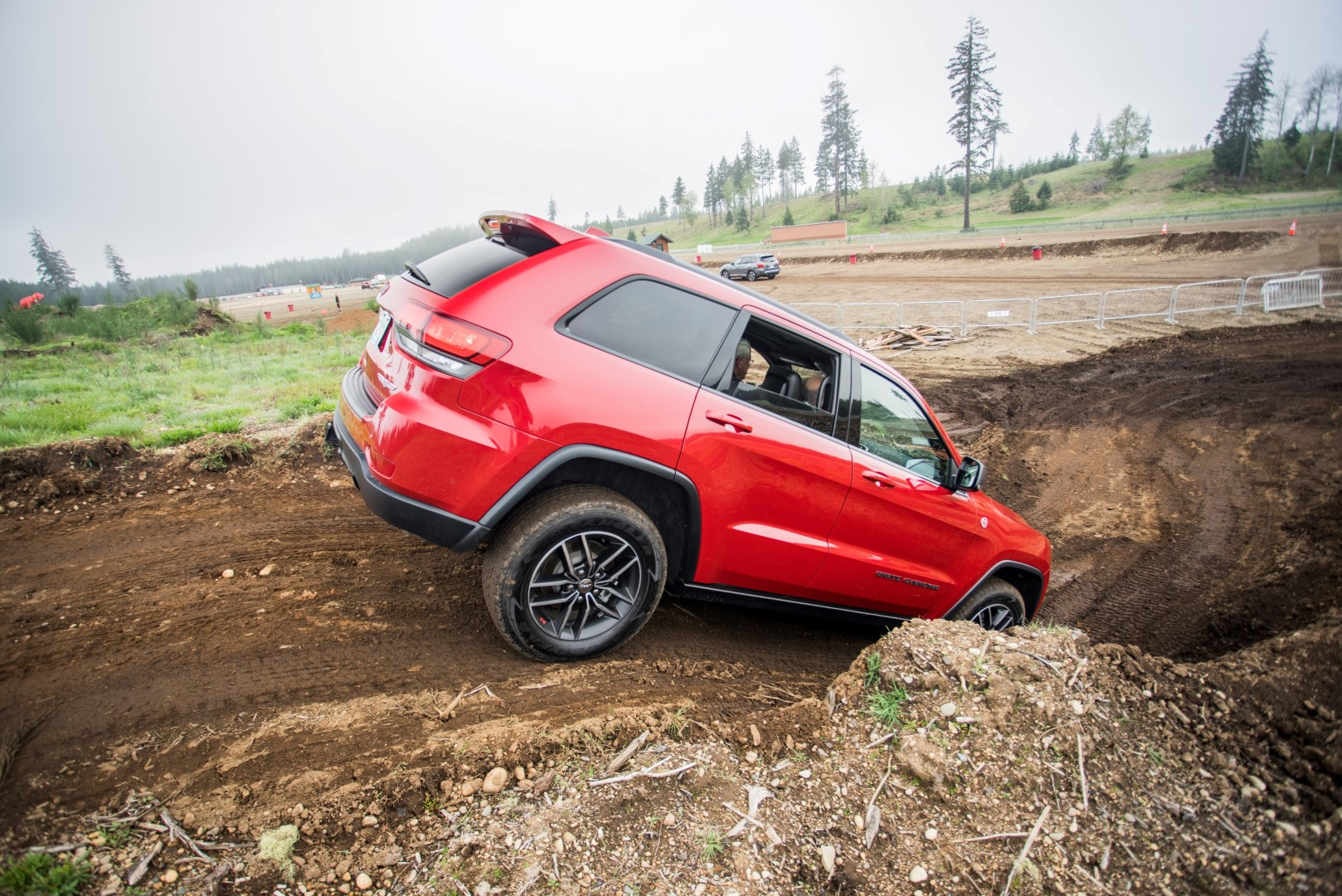 Jeep Grand Cherokee Trailhawk off road