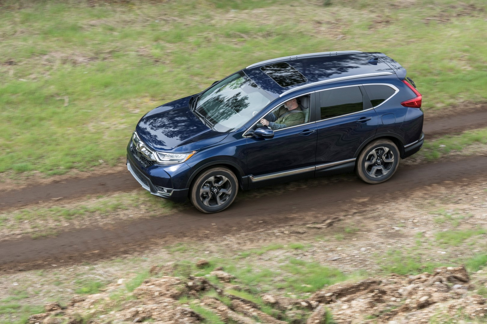 New Honda CR-V off road