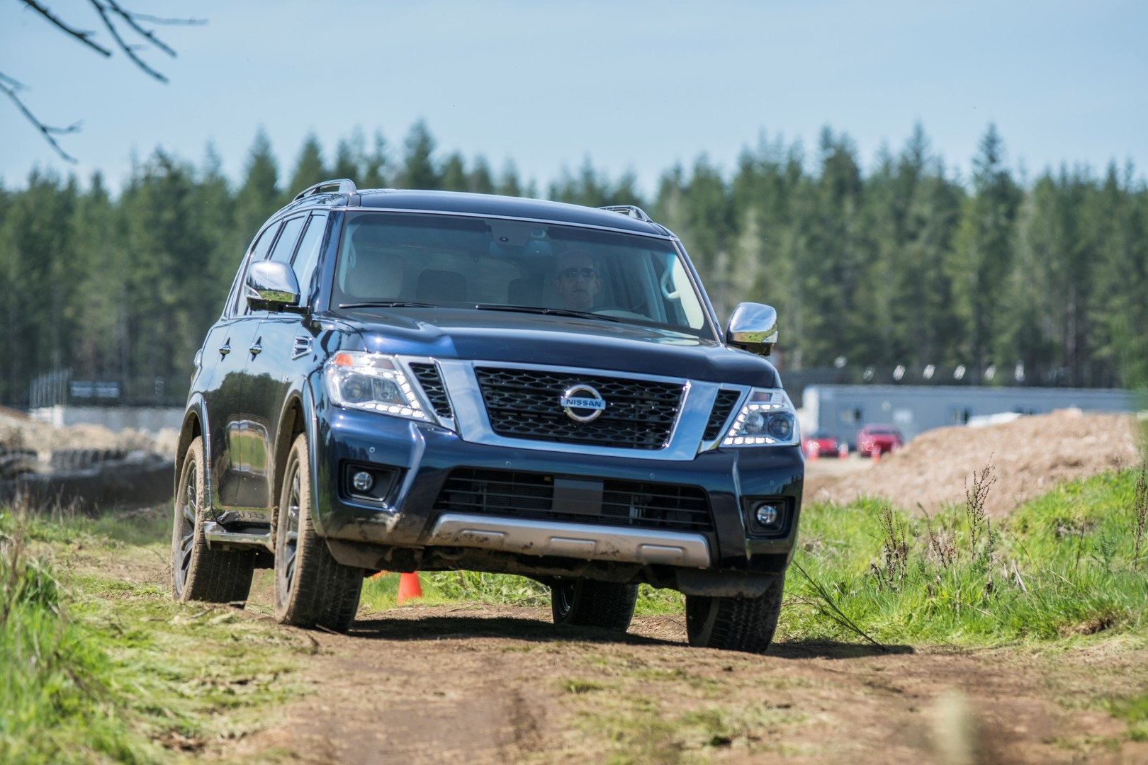 Nissan Armada off road