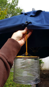 Umbrella With PackTach