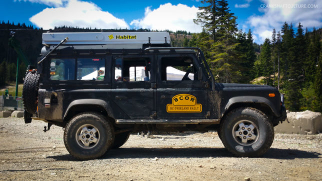 Ray Hyland's Land Rover Defender