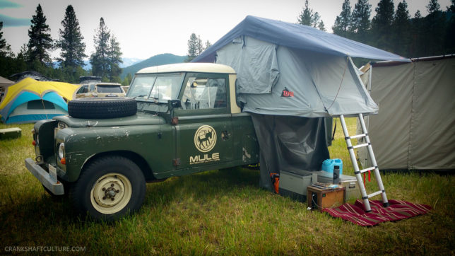 Mule Expedition Outfitters' Land Rover