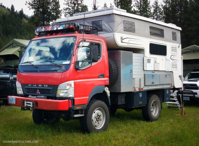 Mitsubishi Fuso camper