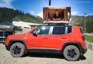 Jeep Renegade Rooftop Tent
