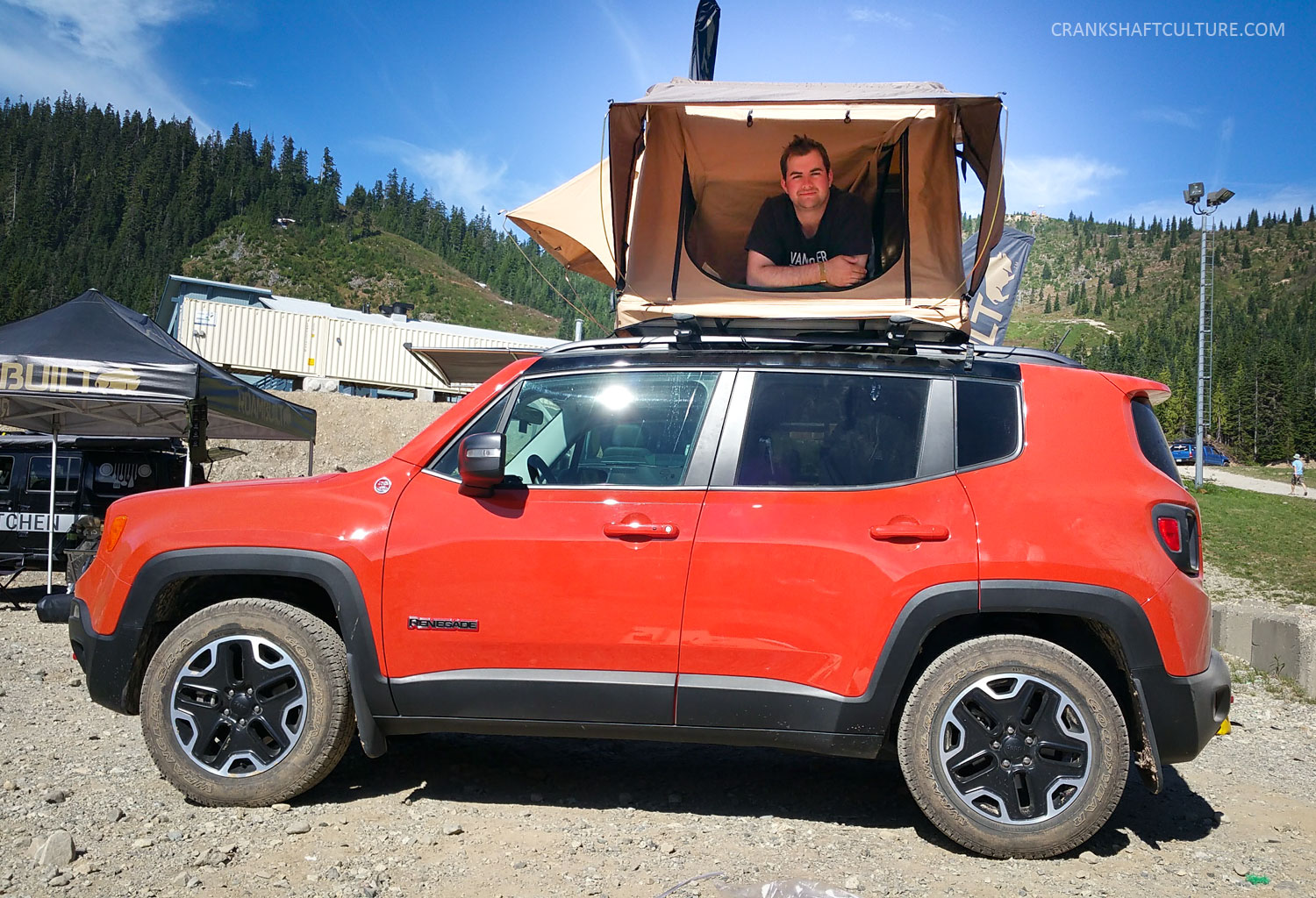 Jeep Renegade Rooftop Tent & Renegade-Rooftop-Tent - CRANKSHAFT CULTURE