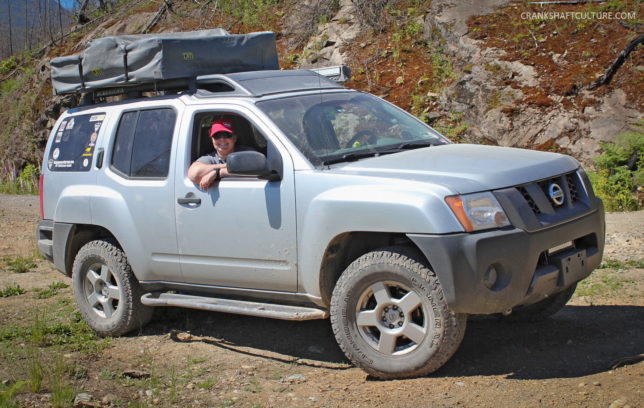 Nick & Tina's lifted Nissan Xterra