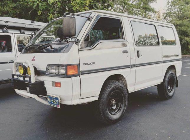 1989 Mitsubishi Delica - Crankshaft Culture