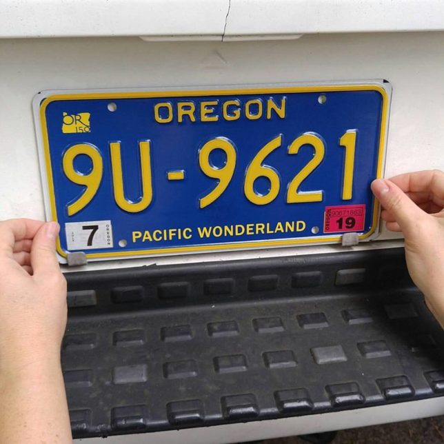 Oregon Pacific Wonderland Plates