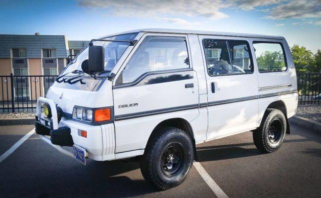 1989 Mitsubishi Delica - Space Tractor