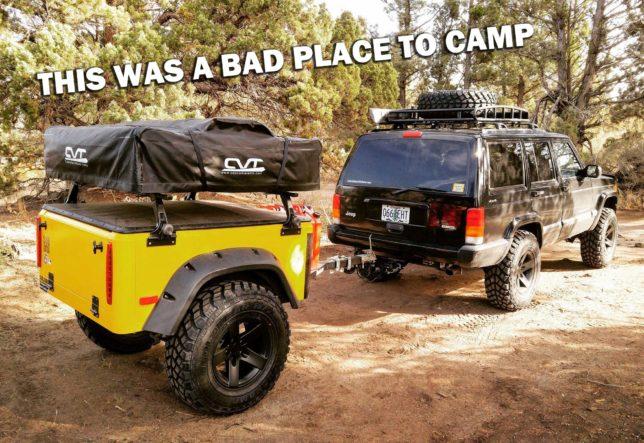 Bad Camping Spots