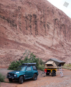A good camp spot in Moab, UT