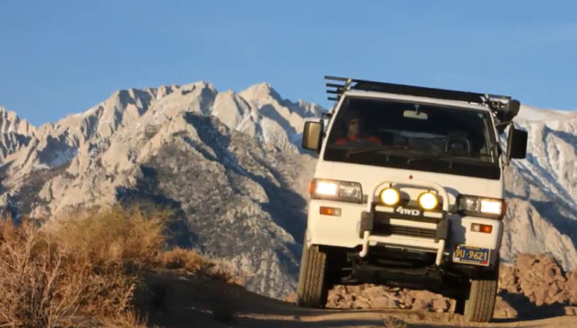Alabama Hills Delica Video