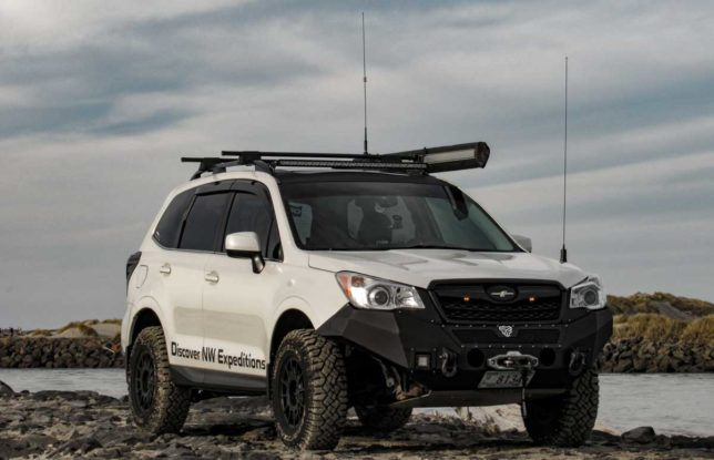 Eric Green's Subaru Forester