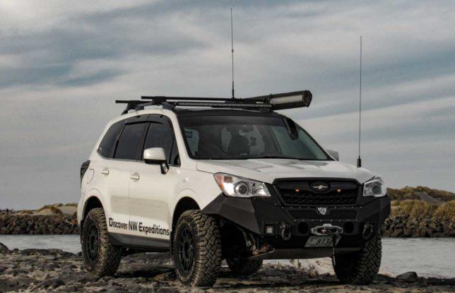 Eric Green's Subaru Forester