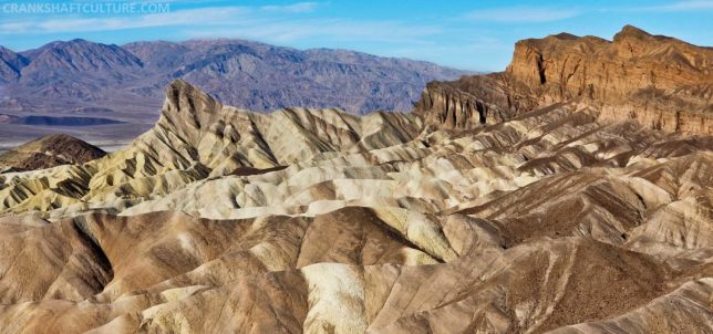 A must-see spot in Death Valley: Zabriskie Point.