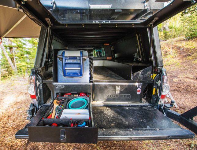 Toyota Tacoma overlanding setup