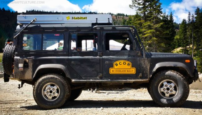 Land Rover, Defender, Defender 110, righthand drive, diesel, AT Overland, Habitat, rooftop tent, roof tent