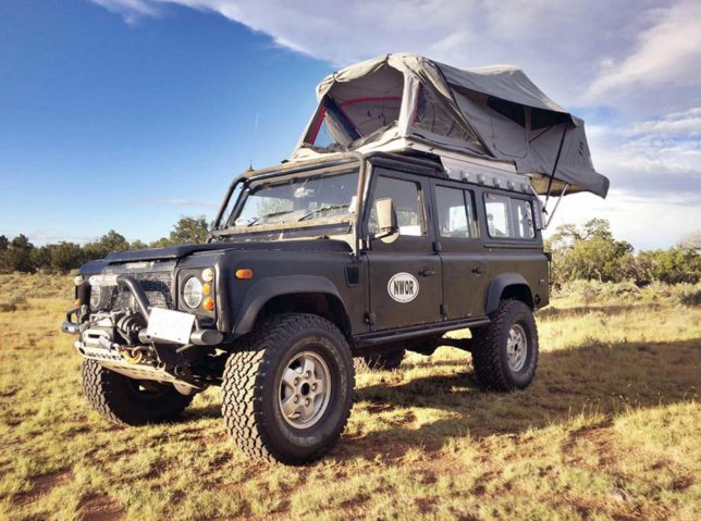 Land Rover Defender 110 with AT Habitat
